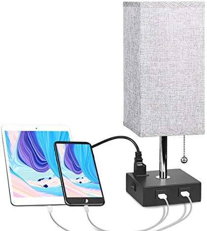 Bedside Aooshine Nightstand Ambient Bedroom product image