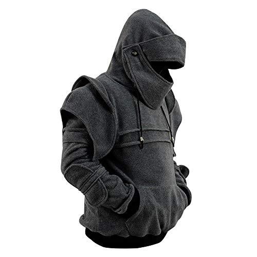 Men's Arthur Knight Hoodie Medieval Armor Sweatshirt