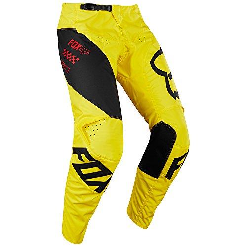 2018 Fox Racing 180 Mastar Pants-Yellow-34 - Fox Atv Gear