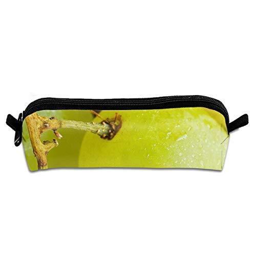Macro Green New Pencil Case for Binder Pencil Bag Stationery Storage Pencil Bag School Supplies Stationery Bag Organizer Pen Holder Boy and Girl Compact Zipper Bag -