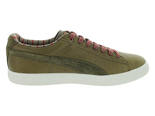 Puma Clyde Worker (oliva Scura / Sussurro Bianco / Fossile)