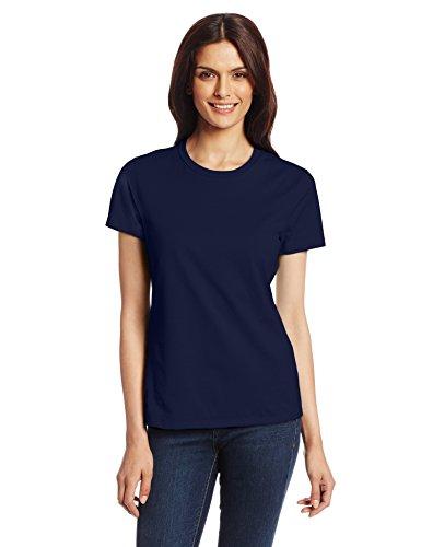 Hanes Women's Nano T-Shirt, Medium, Navy ()