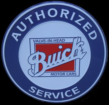 Blue Buick Service Sign - Buick Garage Shopping Results