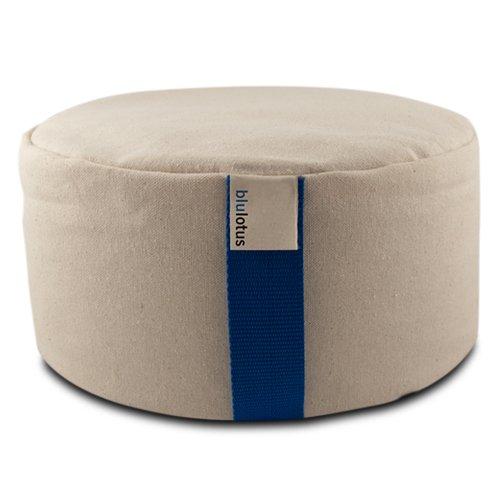Blue Lotus Meditation Cushion