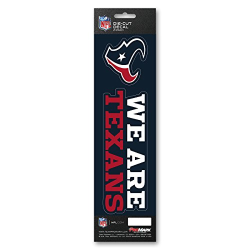 NFL Houston Texans Slogan Decal