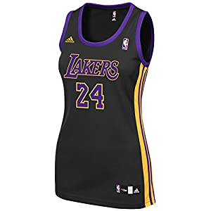 Kobe Bryant Los Angeles Lakers NBA Adidas Women s Black Official Alternate  Replica Jersey 2ec044503e
