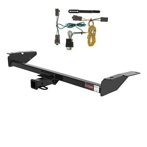 CURT Class 3 Trailer Hitch Bundle with Wiring for Ford Crown Victoria, Grand Marquis - 13707 & 55326