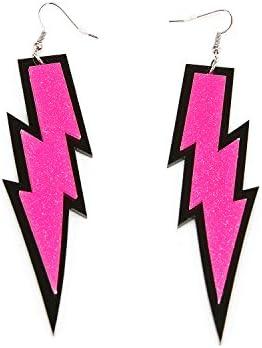 ZeroShop Women Fashion Retro Neon Earrings