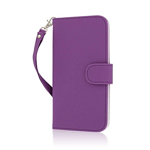 "MPERO FLEX FLIP Wallet Case Étui Coque pour Apple iPhone 6 Plus 5.5"" - Purple"