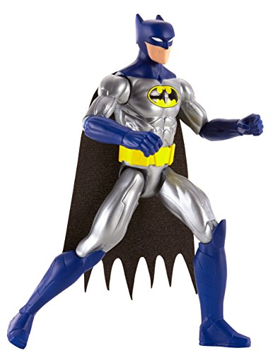 DC Justice League Action Caped Crusader Batman Action Figure, 12