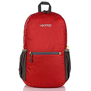 Lightweight Packable Backpack   Water Resistant Foldable Durable Hiking Travel Daypack For Men & Women   Best Camping, Outdoor, Cycling, School, Plane Carry On, Ultralight & Handy Bag 6.5Oz