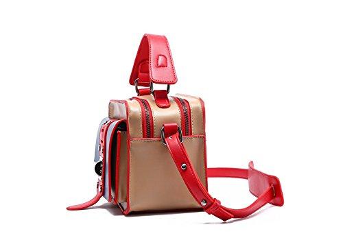Marrone Semplice Moda Gwqgz Colore Bag Su Taglio Verde wqnCBZ6PYx