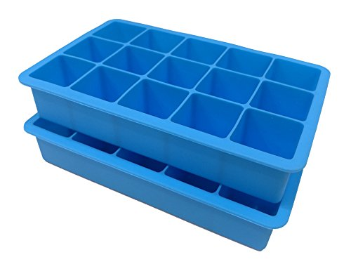 2 Pack Silicone Trays Perfect Sized Cubes product image