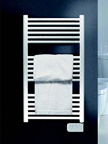 Koh-I-Noor 44010B - Radiador, calienta toallas y secador de ropa con posición fija UNO Eléctrico. 770x500mm - Acabado blanco.: Amazon.es: Hogar