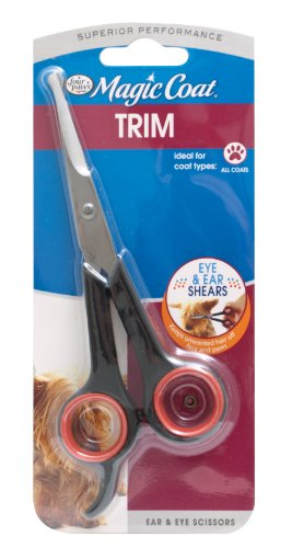 Four Paws Magic Coat Dog Grooming Ear and Eye Scissors ()