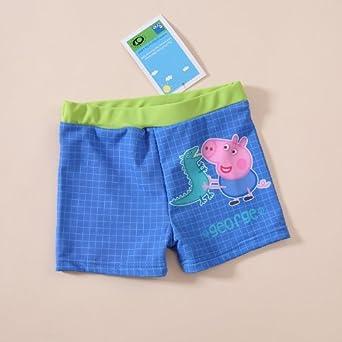 17354f8dbae75 George (Peppa) Pig Boys Swim Swimming Shorts Trunks 1 2 3 4 5 Years (3-4  Years): Amazon.co.uk: Clothing