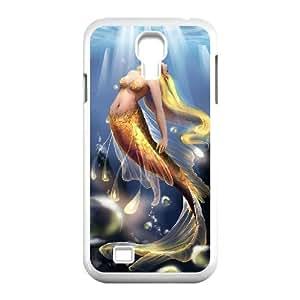 Cool PaintingFashion Cell phone case Of Mermaid Bumper Plastic Hard Case For Samsung Galaxy S4 i9500 wangjiang maoyi