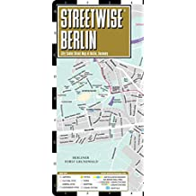 Berlin Laminated City Center Street map Streetwise