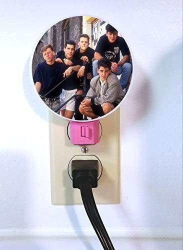 New Kids on the Block Night Light - plug in lamp - wall light, nightlight, NKOTB by GiftStopDesigns