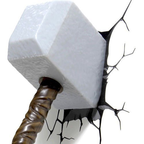 Avengers Light Hammer Decoration Mount product image