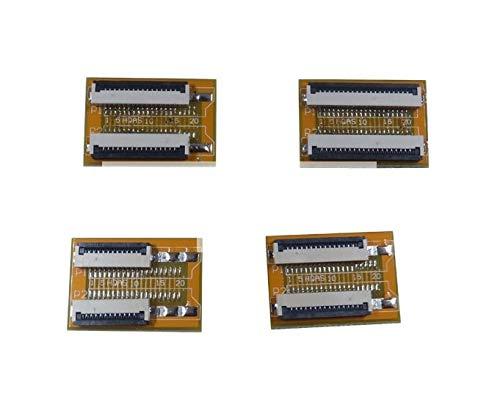 - Davitu 2 pcs Flexible Flat Cable FFC FPC Extension Board 1.0 mm Pitch 4 5 6 7 8 9 10 11 12 13 14 15 16 20 24 30 32 34 40 Pin PCB - (Color: 10 Pin)
