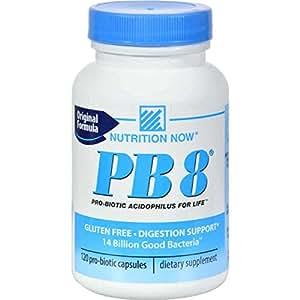 Nutrition Now PB 8 Probiotic Acidophilus 120 Caps