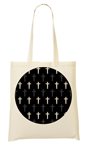 French Graphic Tote Hipster Di Sacchetto View Vintage Crosses qwCrqS7