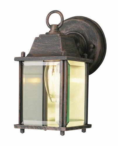 Trans Globe Lighting 40455 RT Outdoor Patrician 8'' Wall Lantern, Rust by Trans Globe Lighting