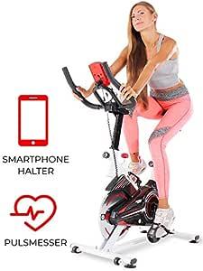 Miweba Sports MS100-10 kg - Bicicleta estática Profesional para ...
