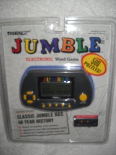 Jumble Electronic Word Game