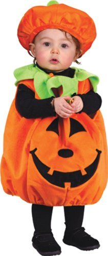 Punkin Cutie Pie Costume, Infant (Ages up to 24 months) -