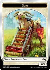 Magic the Gathering Unstable Goat Token Foil