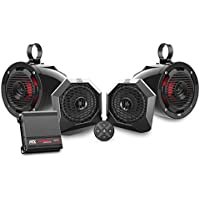 2014 To 2017 Polaris RZR 4 900 EPS Bluetooth Enabled Four Speaker Audio System By MTX Audio RZRBTSPKRS