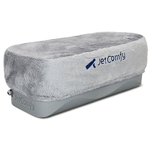 (Grey) - JetComfy Travel Pillow - The ONLY travel pillow that FULLY SUPPORTS your head and neck B01GQS2ZQ6 グレー