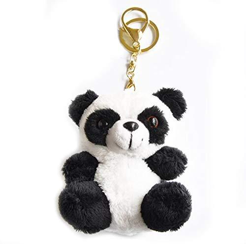 Smilesky Plush Panda Keychain Stuffed Animal Ornaments Pendant for Backpacks 4
