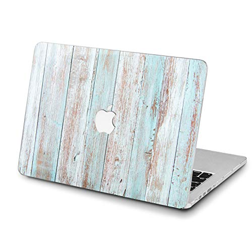 Lex Altern MacBook Pro Case Loft Design Wooden 15 inch Mac Air 13 12 A1990 2018 11 2017 White A1708 Retina A1502 Shell Hard Cover Apple Clear Girly 2016 Laptop Protective Print 2015 Nature Blue Top