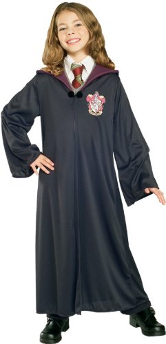 [Rubies Costume Harry Potter Child's Hermione Granger Gryffindor Robe,Large] (Harry Potter Halloween Costumes Hermione)