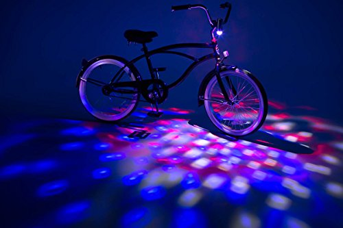 Brightz, Ltd. Cruzin Brightz Blinking LED Bicycle Accessory, (Mens Scooter)
