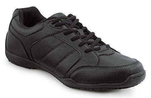SR MAX SRM6000 Rialto Men's Black Slip Resistant Athletic Sneaker - 11.0 M - Athletic Slip Mens