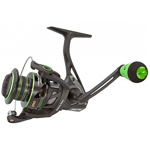 Lew's Fishing MH2-200 Lews Fishing, Mach Ii Metal Speed Spin Spinning Reel, 200, 6.2: 1 Gear Ratio, 10 Bearings, Ambidextrous