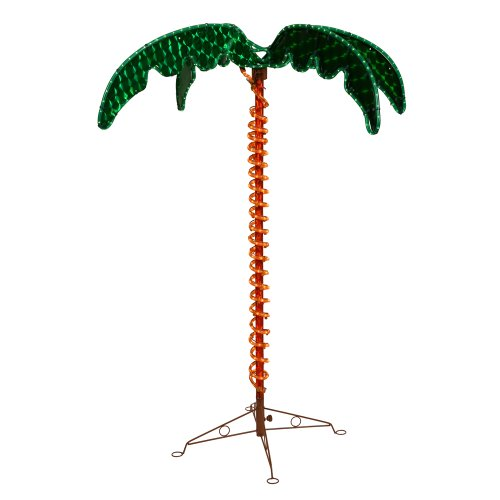 Vickerman Rope Light Palm Tree Christmas