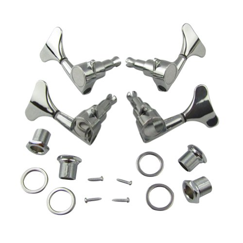 Tuning Pegs Machine Heads 2R2L for guitar Bass Set of 4 - 2