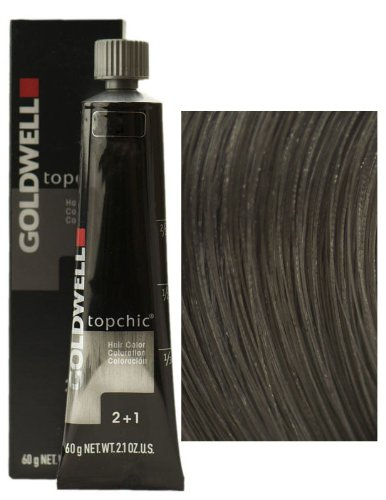 Goldwell Topchic Hair Color Coloration (Tube) 6A Dark Ash...