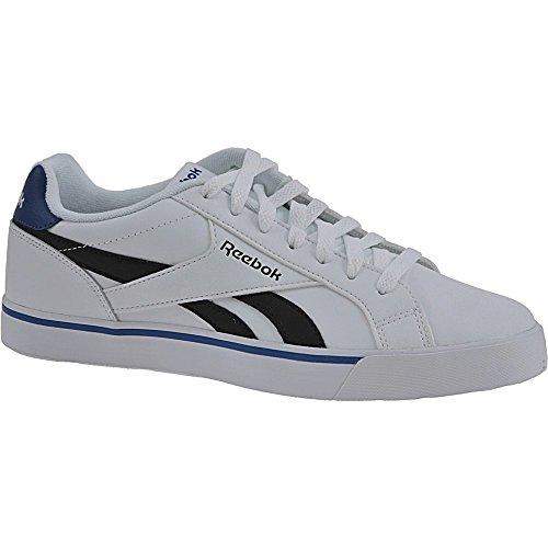 Reebok Royal Complete 2ll, Zapatillas de Deporte para Hombre Blanco (White / Black / Collegiate Royal)