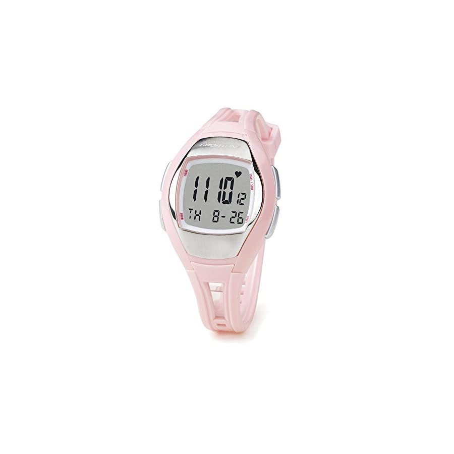 Sportline Solo 925 Heart Rate Watch Multi function Fitness Watch with ECG Accurate Heart Rate Monitor, Pedometer, Stopwatch, and Clock