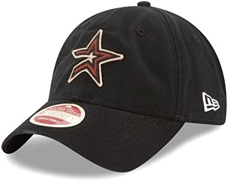 super popular 618a7 8415a Amazon.com   New Era Houston Astros MLB 9Twenty Cooperstown Rugged Patch  Adjustable Hat   Sports   Outdoors