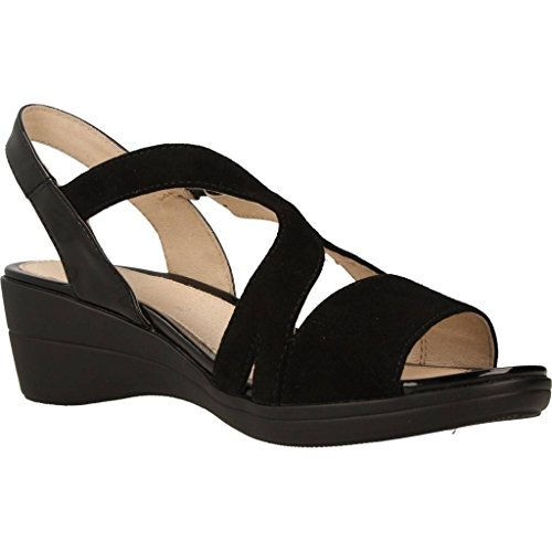 Sandalias y chanclas para mujer, color Negro , marca STONEFLY, modelo Sandalias Y Chanclas Para Mujer STONEFLY VANITY III 7 Negro Negro
