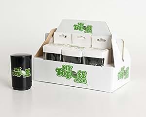 MyTopOff 6-Pack Black Push-Down Bottle Openers