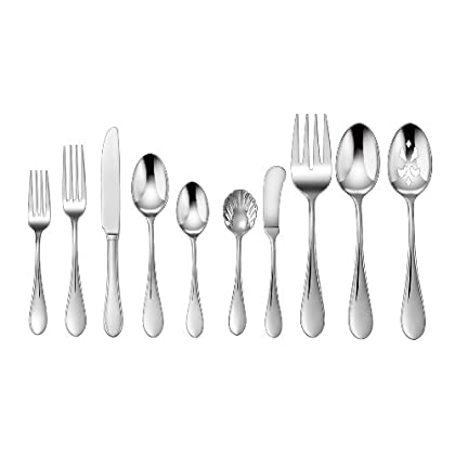 Image of Cuisinart CF-01-I45 45-Piece Flatware Set, Irais Home and Kitchen