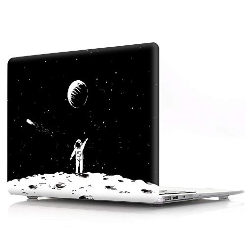 - HRH Space Astronaut Pattern Laptop Body Shell Protective PC Hard Case for Apple MacBook Pro 13.3